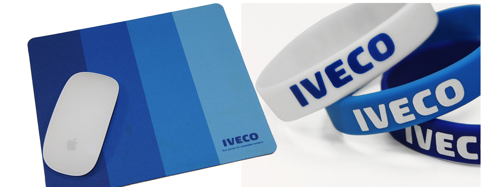 [Translate to English:] Merchandise mit Iveco-Logo
