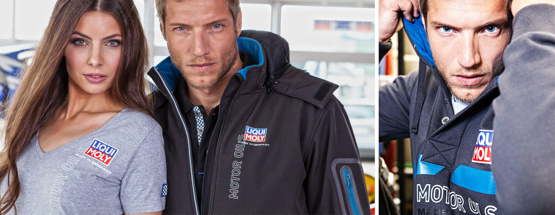 Bequeme Casual Wear mit Liqui Moly Branding